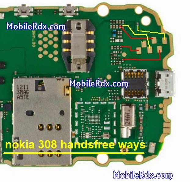 nokia asha 308 handsfree jumper ways