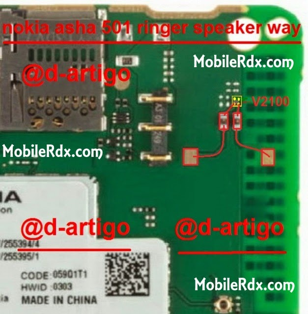 nokia asha 501 ringer speaker jumper ways solution - Nokia Asha 501 Ringer Speaker Not Working Solution