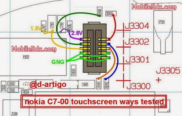 nokia c7 00 touchscreen ways - Noka C7-00 Touchscreen Problelm Ways Jumper