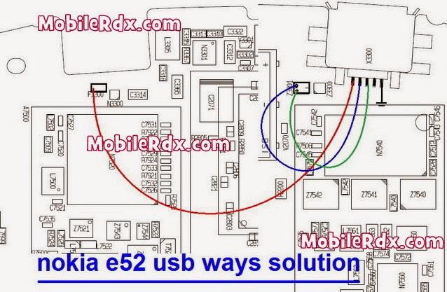 nokia e52 usb ways solution jumper - Nokia E52 Usb Charging Connecter Jumper Solution