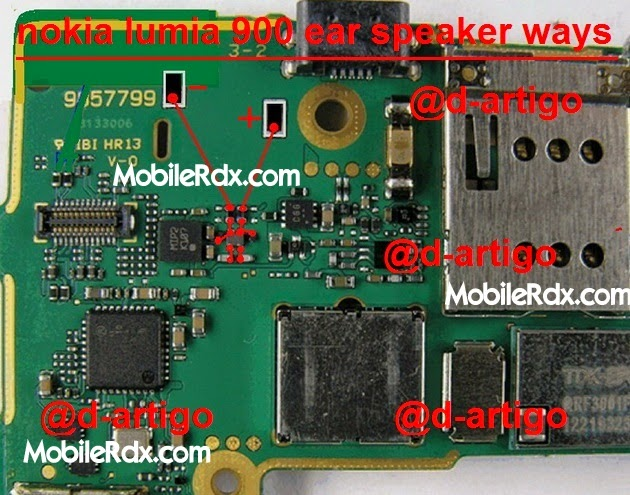nokia lumia 900 ear speaker ways solution