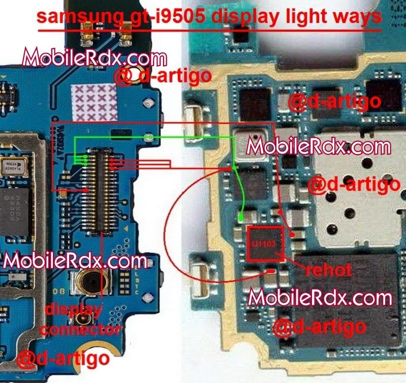 samsung-galaxy-s4-i9505-lcd-display-light-ways-jumper-solution
