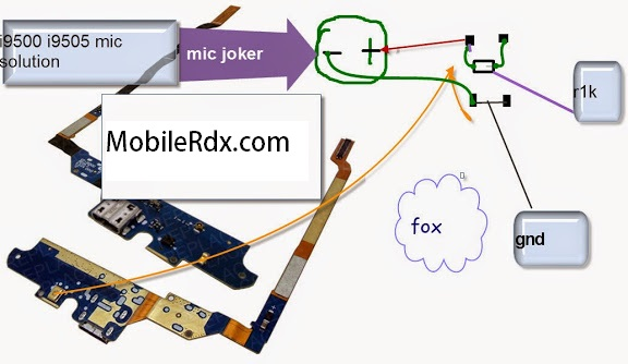 samsung galaxy s4 i9505 mic ways jumper solution - Samsung GT-I9505 Mic Solution Microphone Jumper Ways