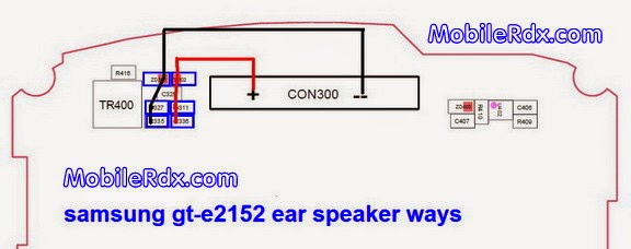 samsung gt e2152 earspeaker ways earpiece jumper