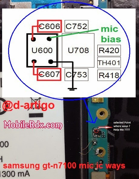 samsung gt n7100 mic ways solution - Samsung Note 2 N7100 Mic Ways Problem Solution