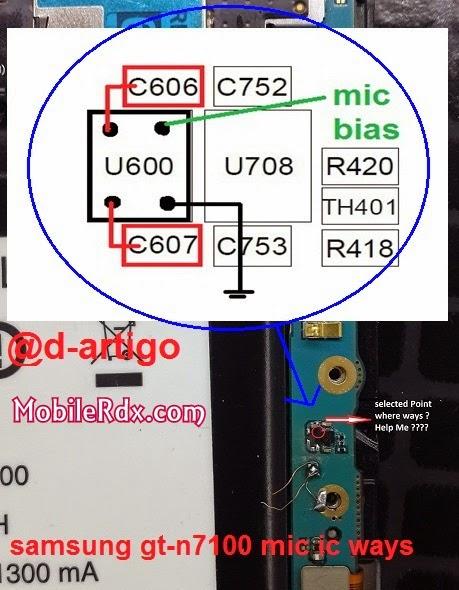 samsung gt n7100 mic ways solution - Samsung Note 2 N7100 Mic Ways Problem Solution
