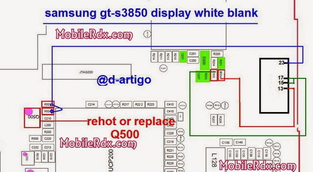 samsung gt s3850 display blank white solution - Samsung Corby 2 S3850 Blank White Display Solution