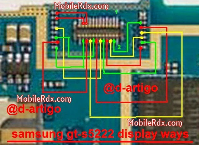 samsung gt s5233 display connecter ways - Samsung S5222 Lcd Display Pin Ways Solution