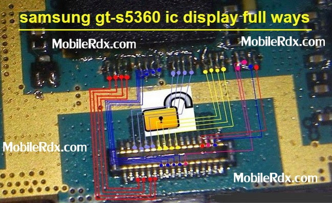 samsung gt s5360 lcd display tack ways - Samsung Gt-S5360 Full Display Track Ways