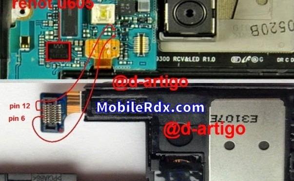Samsung S3 I9300 Loudspeaker Ringer Problem Jumper