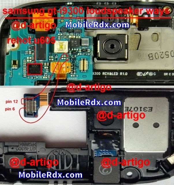 samsung s3 i9300 loud speaker ringer ways solution - Samsung S3 I9300 Loudspeaker Ringer Problem Jumper Solution