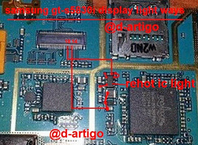 samsung s5830i display light ways - Samsung S5830i Display Lcd Light Ways