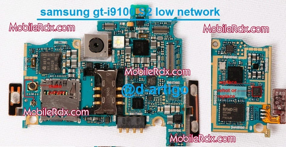samsunggt gt i9100 low network ways solution
