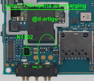 sony lt18a lt18ixperia arc charging 300x258