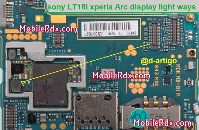 sony lt18i xperia arc display light ways