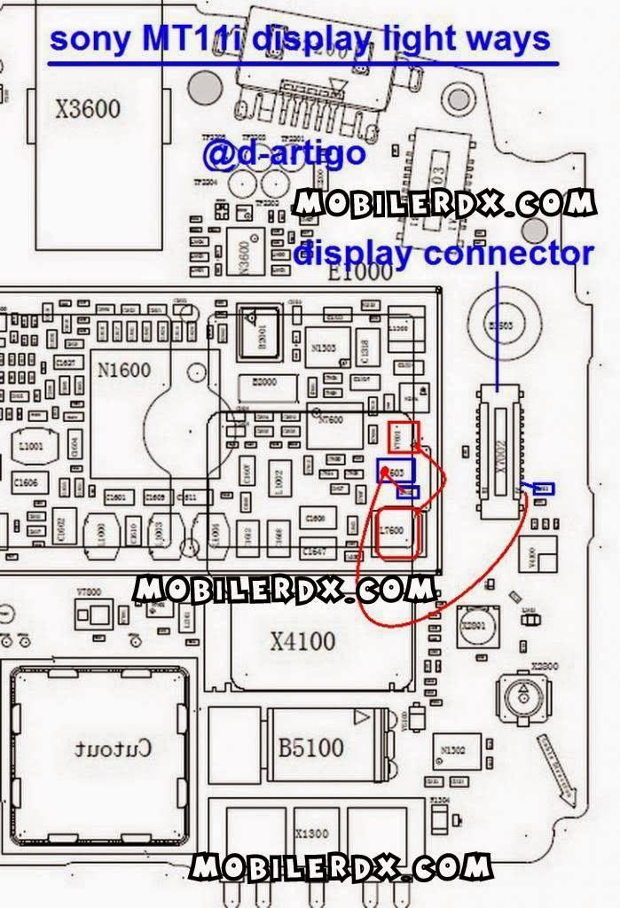 sony xperia Neo mt11i display light ways - Sony MT11i Lcd Dislay Light Jumper Solution