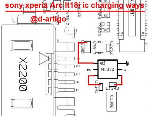 sonylt18i charging ic ways