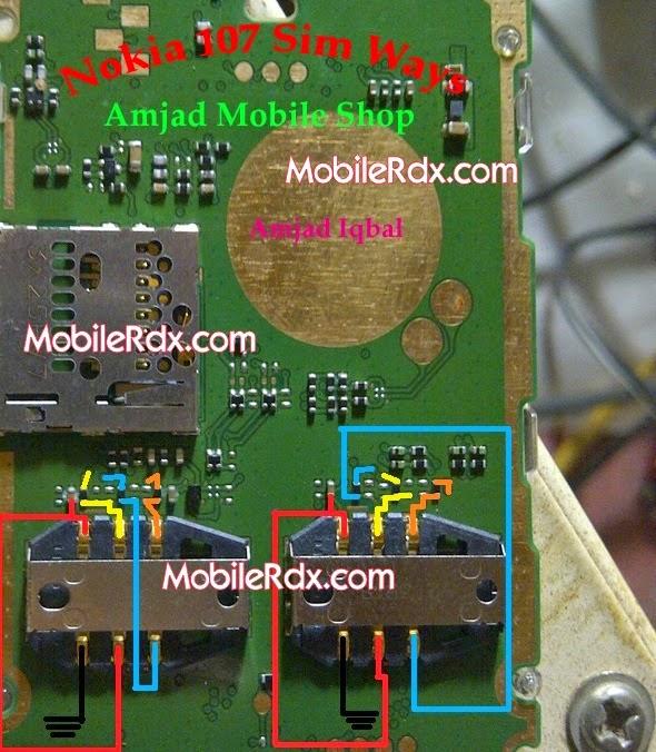 Nokia 107 insert sim solution ways