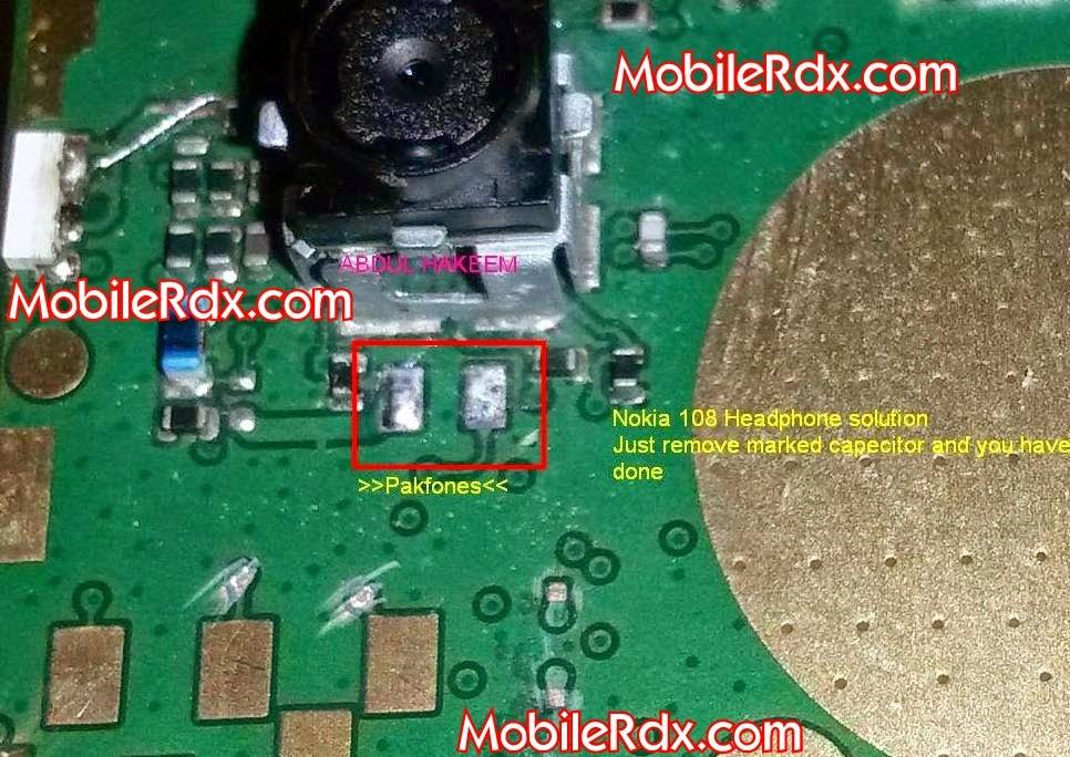 Nokia 2B108 2Bheadphone 2Bmode 2Bactivated 2Bsolution