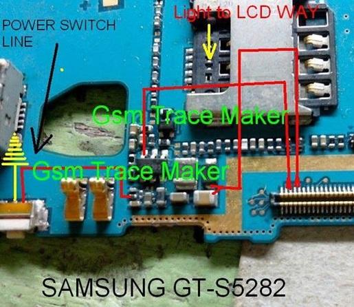 Samsung S5282 Full Display Track Ways Light Solution