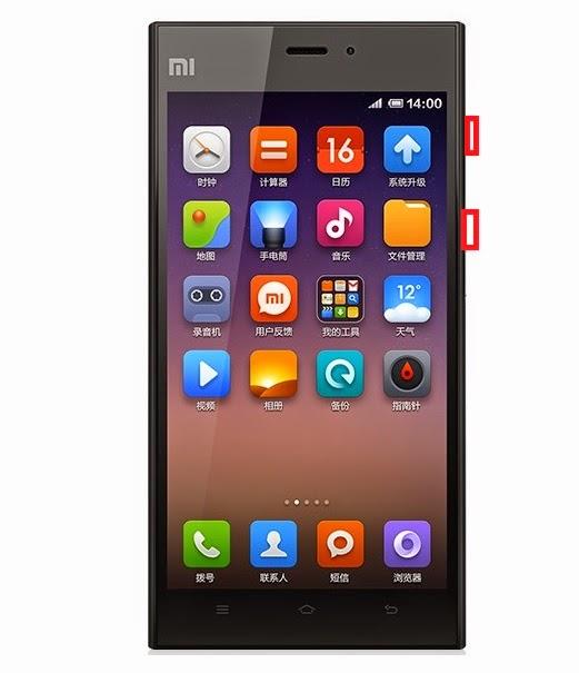 XiaoMi Mi3 GSM reset