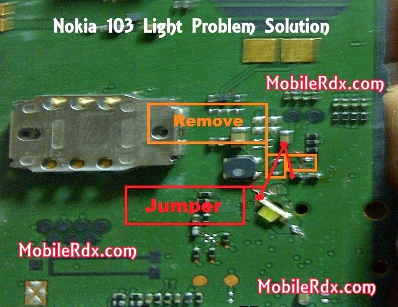 nokia 2B103 2Bdisplay 2Blcd 2Blight 2Bways - Nokia 103 Display Light Ic Solution Ways