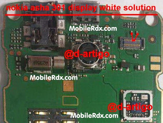 nokia 2B301 2Bwhite 2Bdisplay 2Bproblem 2Bsolution - Nokia Asha 301 White Display Problem Repair Solution