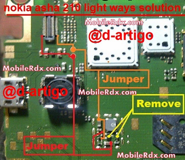 nokia 2Basha 2B210 2Blight 2Bways 2Bsolution - Nokia Asha 210 Display Light Ways Solution