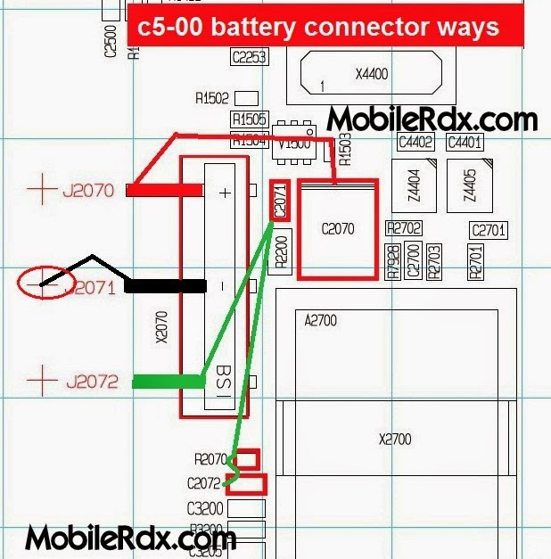nokia 2Bc5 00 2Bbattery 2Bconnecter 2Bways - Nokia C5-00 Battery Connector Pin Ways