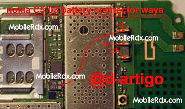 nokia 2Bc5 03 2Bbattery 2Bconnecter 2Bways - Nokia C5-03 Battery Connecter Problem Repair Ways