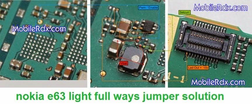 nokia 2Be63 2Blight 2Bways 2Bsolution 2Bjumper - Nokia E63 Display Light Ways Jumper Solution