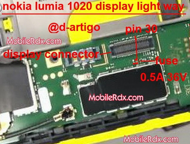 nokia lumia 1020 display light solution ways