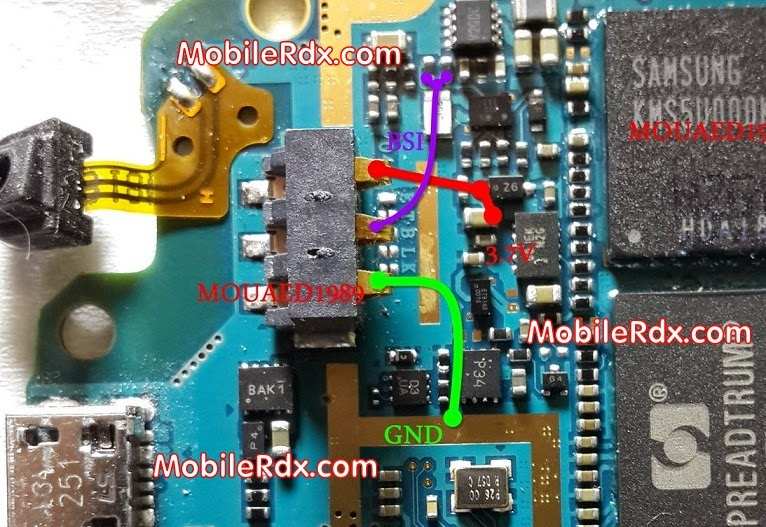 samsung 2Bgt 5282 2Bbattery 2Bconnecter 2Bwaya - Samsung S5282 Battery Connecter Repair Ways