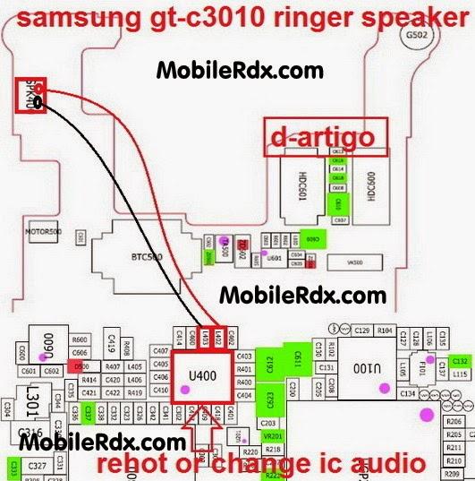 samsung 2Bgt c3010 2Bringer 2Bspeaker 2Bways - Samsung C3010 Ringer Speaker Jumper Solution