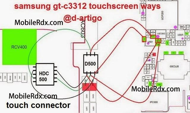 samsung 2Bgt c3312 2Btouchscreen 2Bpin 2Bways