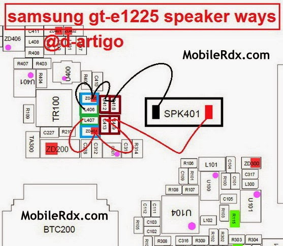 samsung 2Bgt e1225 2Bspeaker 2Bringer 2Bways - Samsung E1225 Ringer Speaker Jumper Solution