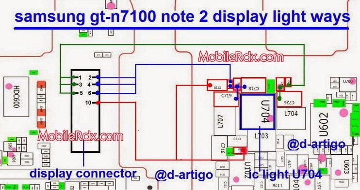 samsung 2Bgt n7100 2Bnote 2B2 2Bdisplay 2Blight 2Bways - Samsung Note2 N7100 Display Light Issue Solution