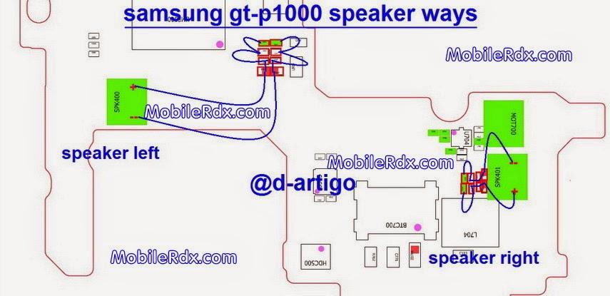 Samsung GT-P1000 Ringer,Speaker No Sound Solution
