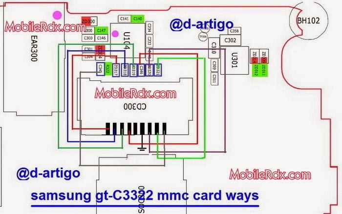 samsung gt c3322 mmc card ways solution