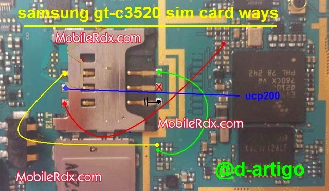 samsung gt c3520 sim card ways jumper - Samsung GT-C3520 Insert Sim Problem Solution Jumper
