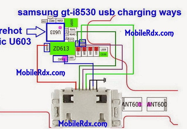 samsung gt i8530 usb charging way jumper solution - Samsung I8530 Galaxy Beam Charging Ways Jumper Solution