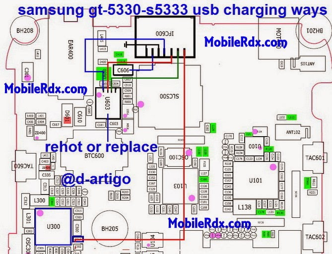 samsung gt s5330 s5333 usb charging ways solution