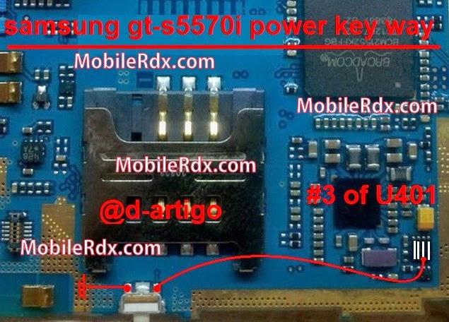 Jumper Cables And Keys : Samsung gt s i power key ways on off jumper