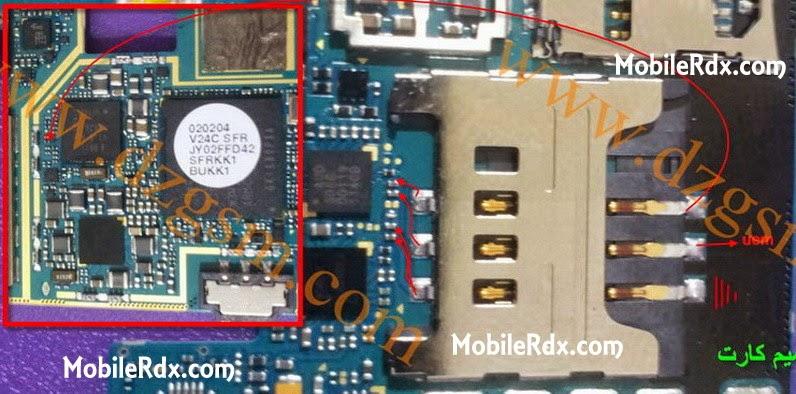Samsung GtN7000 Note Sim Card Ways Jumper Solution