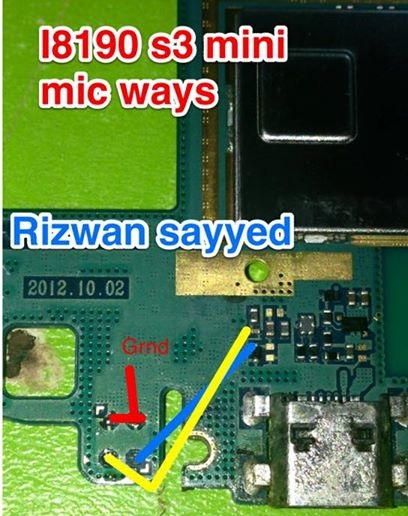Samsung GT-I8190 S3 Mic Ways Microphone Problem Solution