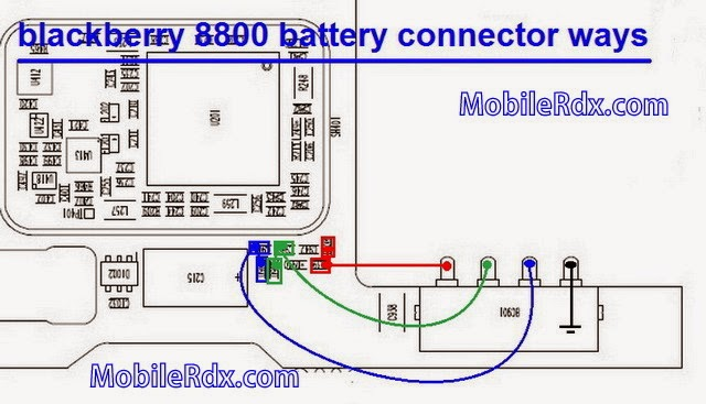 blackberry 2B8800 2Bbattery 2Bconnecter 2Bways - Blackberry 8800 Battery Connecter Pin Line Ways