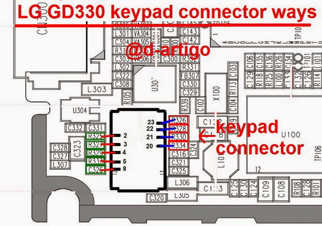 lg 2Bgd 2B330 2Bkeypad 2Bconnecter 2Bways 2Bsolution - Lg GD 330 keypad Connecter Ways Not Working Solution