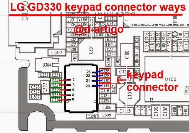lg 2Bgd 2B330 2Bkeypad 2Bconnecter 2Bways 2Bsolution - Lg GD 330 keypad Connecter Ways Not Working Solution