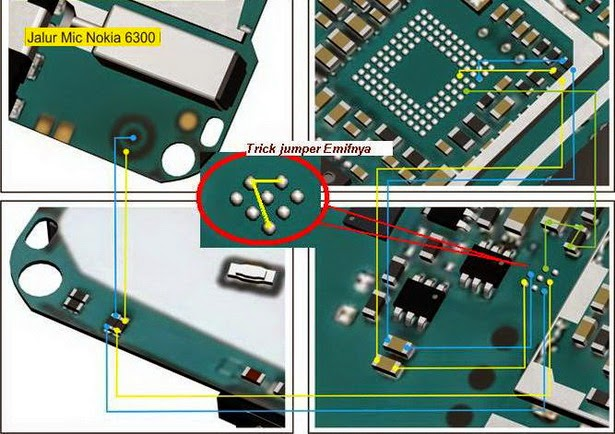 nokia 2B6300 2Bmic 2Bmircophone 2Bway 2Bjumper 2Bsolution - Nokia 6300 Mic Ways Repair Solution