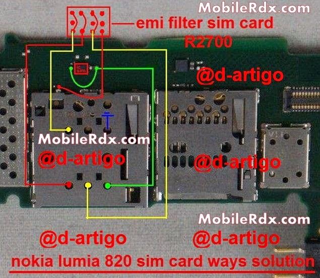 diagram of oxidation nokia 820 insert sim problem solution simcard ways jumper  nokia 820 insert sim problem solution simcard ways jumper